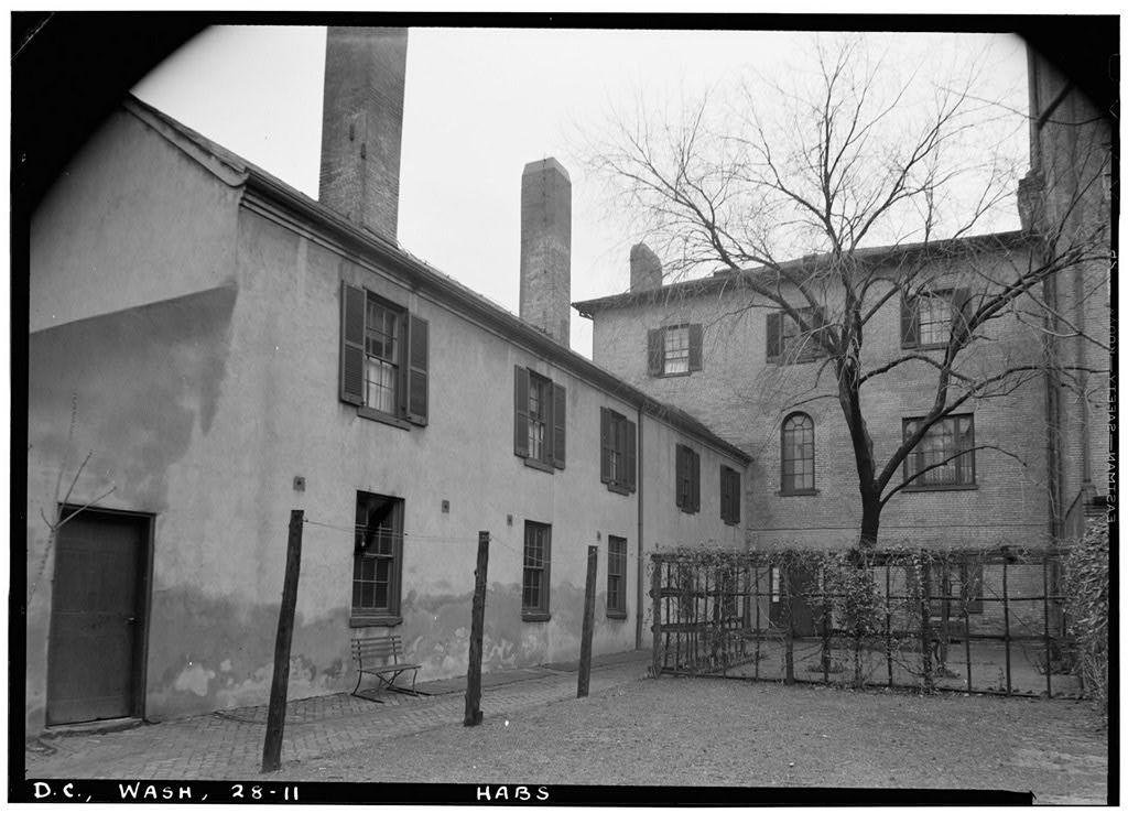 Decatur House Slave Quarters