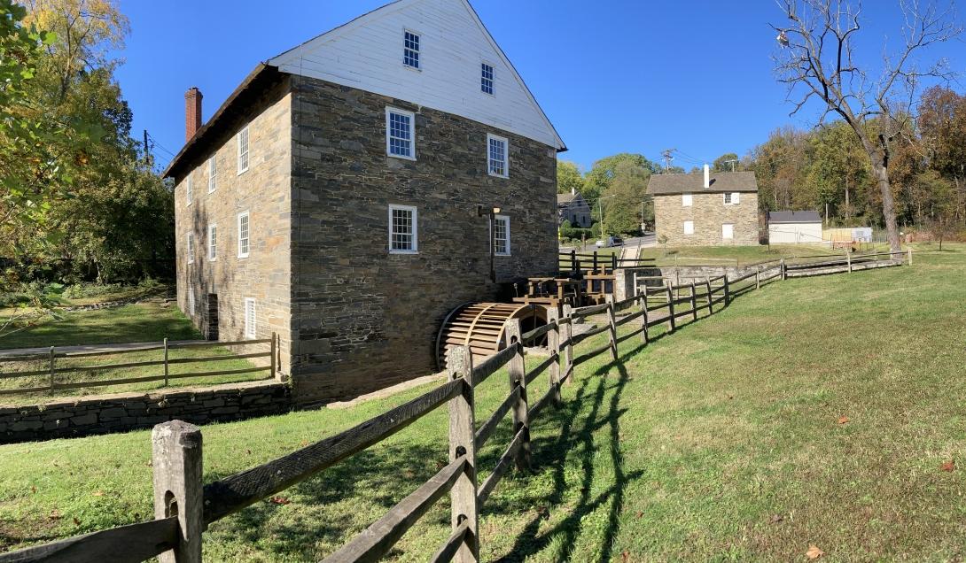 Peirce Mill in Autumn