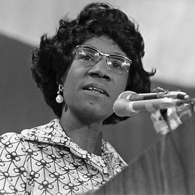 Rep. Shirley Chisholm
