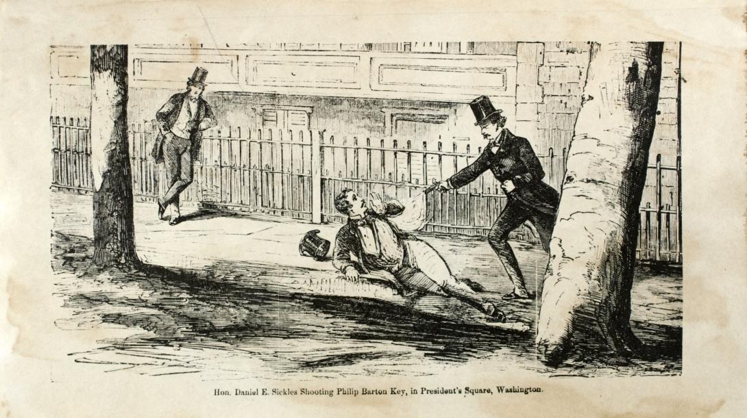 Daniel Sickles Philip Barton Key Lafayette Park scandal
