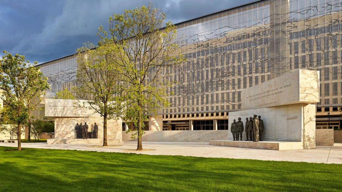 Dwight D Eisenhower Memorial Washington DC Alan Karchmer EMC