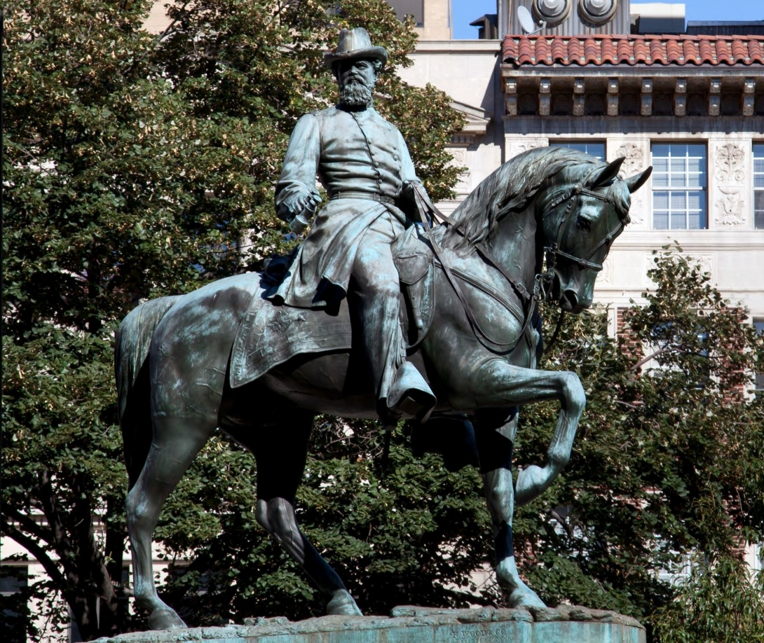 James B. McPherson Memorial Statue LOC